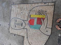Sidewalk Mosaic