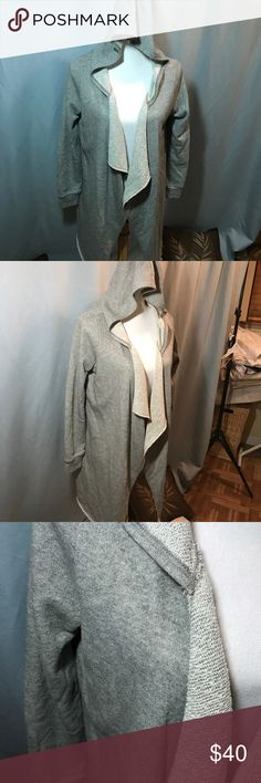 Juicy Couture, Small Gray Coat All my items are clean and in New or Like New Condition. If you see something you like, please make an offer, higher discounts given if you order 3 or more items from my closet. Thank You for shopping my closet. Buy three of my items at the asking price, get a forth item free ( free item will be lowest price) Juicy Couture Jackets & Coats