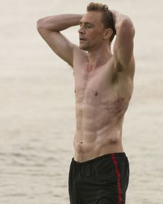 Tom Hiddleston —  hot as himself & as Loki