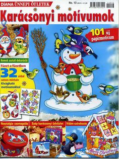 Архив альбомов Christmas Printables, Christmas Crafts, Cross Stitch Books, Painted Books, Projects To Try, Holiday Decor, Paper, Painting, Albums