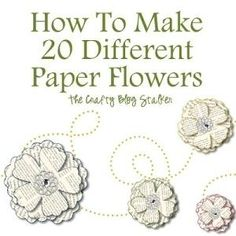 Paper Flowers by lindsay0