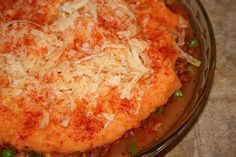 Shepherd's pie - I have tried several shepherd's pies.  This recipe is my favorite.  If you do not eat it all, you can feed the freezer as it freezes well.