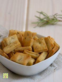 croccantelle al rosmarino, biscotti salati