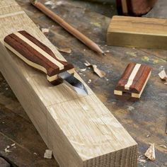 Wood Magazine - Woodworking Project Paper Plan to Build Fine-Line Marking Knife