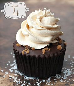 Salted Caramel Chocolate Cupcakes -  Chocolate Desserts
