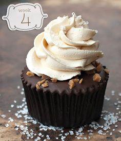 Salted Caramel Chocolate Cupcakes - Chocolate Dessert Recipes - OMG Chocolate Desserts