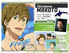 "FUNimation Announces ""Free!"" English dub casting of Johnny Yong Bosch as Makoto Tachibana"