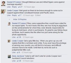 'You judgmental little c**k' - National Party councillor Linda Cooper lashes out in abusive Facebook post - National - NZ Herald News