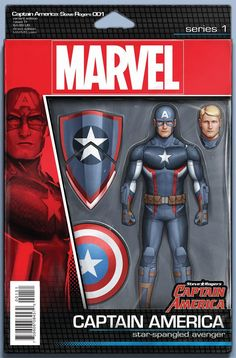 Marvel - Captain America: Steve Rogers (2016) #1 - Action Figure Variant Cover