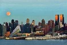 Nyc Skyline, Manhattan Skyline, New York Sunset, One World Trade Center, Frozen In Time, Great Shots, Empire State Building, First World, San Francisco Skyline