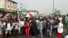 nodullnaija: Gov Wike's Supporters Celebrate his Victory in Por...