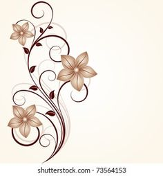 Flower Art Drawing, Flower Drawing Tutorials, Flower Background Wallpaper, Flower Backgrounds, Flower Embroidery Designs, Flower Designs, Fabric Painting, Body Painting, Glass Painting Designs
