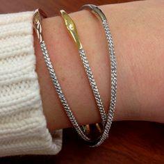 New diamond bracelets!! Bday present from my mom :)