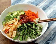 Vegan Korean Rezepte: Rohmaterial Sommer Bibimbap - Peaceful Dumpling | Peaceful Dumpling
