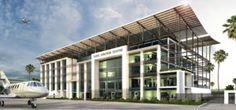 Aviation design - Airport, hangars, hotel design - MaC Architects, leaders in green building design Cape Town, South Africa Airport Design, Green Building, Building Design, Architects, Aviation, Mac, Outdoor Decor, Home Decor, Decoration Home