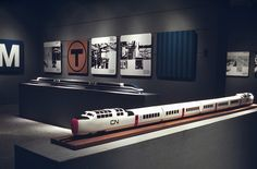 Exhibition design for Mass Transit: Problem and Promise, Walker Art Center, 1968 by ryangerald, via Flickr