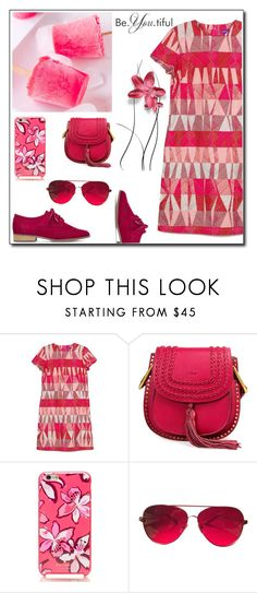 """""""PINK !"""" by maya-world ❤ liked on Polyvore featuring Kate Spade and Valentino"""