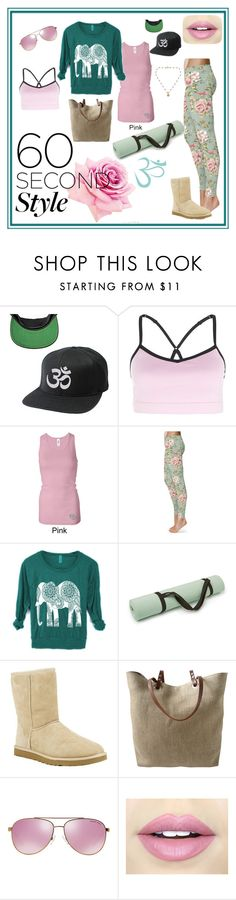 """""""Yoga on the Move"""" by tropicalhaven ❤ liked on Polyvore featuring UGG Australia, Independent Reign, Michael Kors, Fiebiger and NOVICA"""