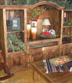 Rustic Entertainment Center Wow What A Great Piece! This Rustic Living Room Entertainment  Center Is