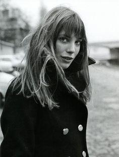 La frangia di #Jane #Birkin. #Capelli #hairstyles #hairhistory