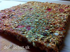 Fotorecept: Jahodovo-banánový vločkový koláč