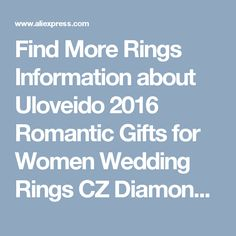 Find More Rings Information about Uloveido 2016 Romantic Gifts for Women Wedding Rings CZ Diamond Jewelry Silver Plated Jewelry Women's Vintage Ring Infinity J221,High Quality new apple ipod products,China ring gear Suppliers, Cheap ring mood from D&C Fashion Jewelry Buy to Get a Free Gift on Aliexpress.com