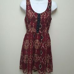 Urban Outfitters dress NWOT Aztec dress by Band of Gypsies. Urban Outfitters Dresses