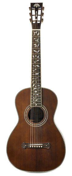 WASHBURN R320SWRK Solid Spruce/Rosewood Parlor Guitar | Chicago Music Exchange