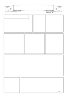 Comic Book Layout, Comic Book Pages, Comic Books, Comic Strip Template, Comic Strips, School Newsletter Template, Design Comics, Bullet Journal Notes, Journal Template