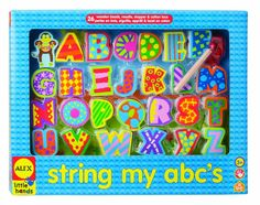 Amazon.com: ALEX® Toys - Early Learning String My Abc'S -Little Hands 1487: Toys & Games