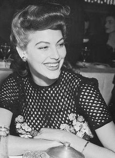 """tinasinatra: """" Ava Gardner c. 1943 """""""
