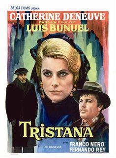 Tristana (1970). Película basada en la obra de Galdós en la que la relación amorosa entre el viejo y la niña da un giro inesperado. http://www.biografiasyvidas.com/biografia/p/perez_galdos.htm