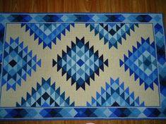 Como fazer tapeçaria holandesa na talagarça – Passo a passo detalhado                                                                                                                                                                                 Mais Beaded Cross, Bargello, Punch Needle, Plastic Canvas, Needlepoint, Cross Stitch Patterns, Tapestry, Embroidery, Quilts
