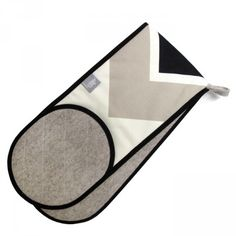 Chevron Double Oven Glove by Lindsey Lang, £36