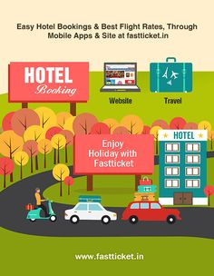 Now you can book your Hotel stay directly from your @fastticket.in ! The coolest options from budget #hotels to #luxurious stays.   #Checkout the list here: http://fastticket.in/travel/hotel-booking?69