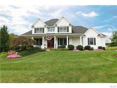 #JustListed - 7521 Kings Highway, Lynn Twp PA - Country Curtis Schneck Custom Built Gorgeous Home with 6.5 acres + Horse Barn!  Find this home on Realtor.com