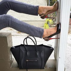 Turn up with Celine & Christian Louboutin this weekend! Shop them NOW on www.mymoshposh.com!