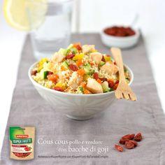 cous cous... pollo, verdure e goji by @juno82