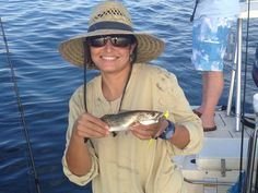 Hahaha the biggest fish  I have ever caught, The monster sea Trout. Sarasota FL 2013.