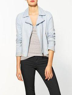 POPSUGAR Shopping: Piperlime Rhyme Los Angeles Alexa Denim Jacket