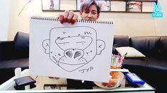 ヨンジェはカワウソ?!GOT7ベンベンがメンバー3人&JYPを描いた結果w