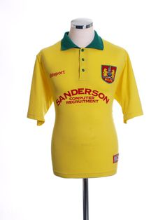 be7e6ca53 1998-99 Bristol City Away Shirt M Vintage Football Shirts