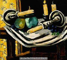 Max Beckmann, Still Life with Fallen Candles, 1929