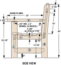 The Garden Bench Assembly Plans
