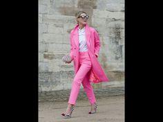 Fashion week Paris : les plus beaux street looks à la sortie des défilés - Journal des Femmes Mode