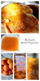 Snappily Ever After: Easiest Apricot Freezer Jam Apricot Freezer Jam Recipe, Apricot Butter Recipe, Apricot Jam Recipes, Freezer Jam Recipes, Jelly Recipes, Freezer Meals, Cooking Recipes, Diet Recipes, Healthy Recipes
