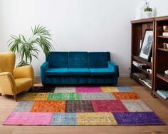 various colours combination carpet