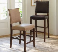 Best Of Pottery Barn Leather Bar Stools