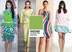 Style file: Pantone colour of the year 2017 - Greenery - LookVine