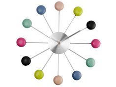 On adore les macarons, n'est pas? :) Macaron clock by Present Time Dog Kennels For Sale, Macaroon Cookies, Cool Dog Houses, Clock Shop, Resin Uses, Wall Clock Online, Paint Samples, Mid Century Style, Pretty Pastel